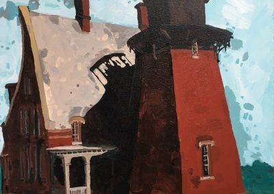 Block Island Light 16 x 20