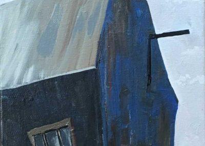 Blue Barn 8 x 10