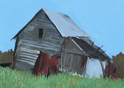 Broken Down Barn 5 x 7