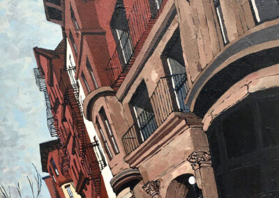 Brooklyn Brownstone 14x18