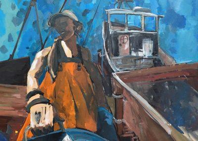 Don_t Call Me A Fisherwoman 36 x 48