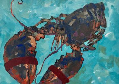 Aqua Lobster 8x10