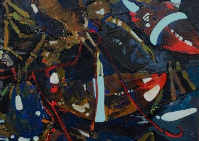 Lobster bluetags 9x12