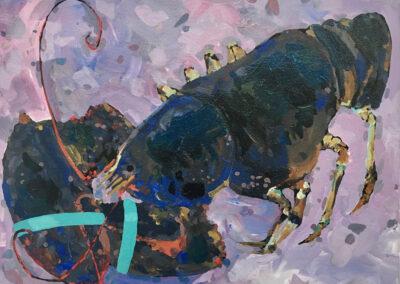 Lilac Lobster 11x14