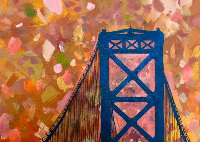 Mt.Hope Bridge 18 x 24