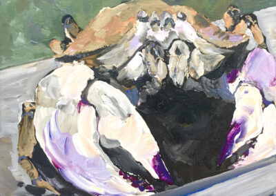 Purple crab 8x10