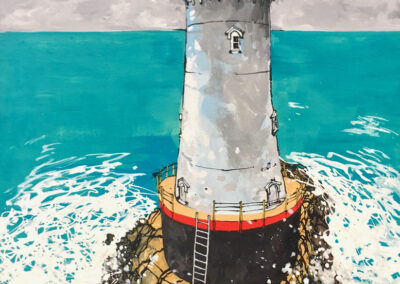 Sakonnet lighthouse 16x20