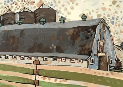 Shy Brother's Farm 16 x 40
