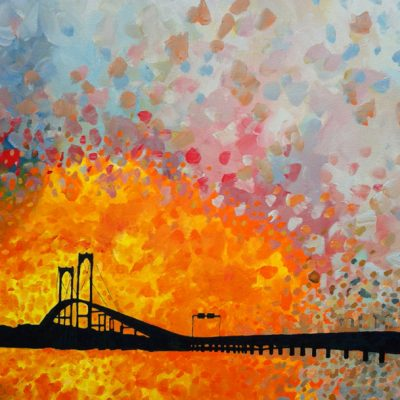 Pell Bridge by Jim Bush